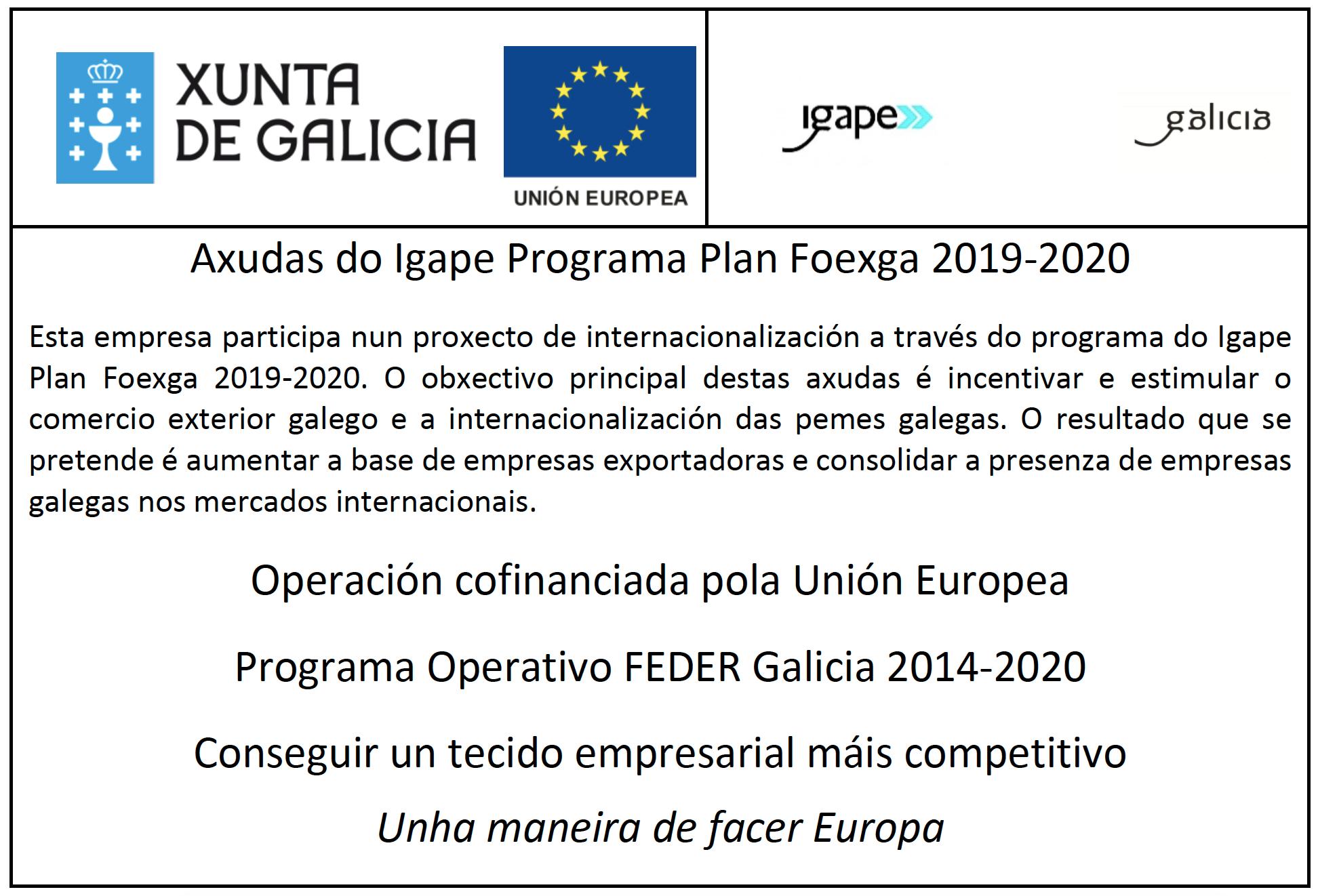 Plan Foexga 2019-2020